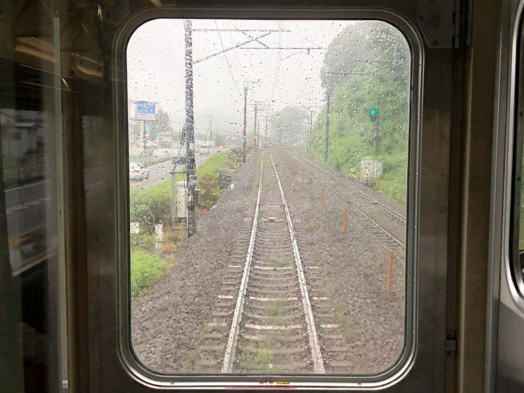 横川駅手前