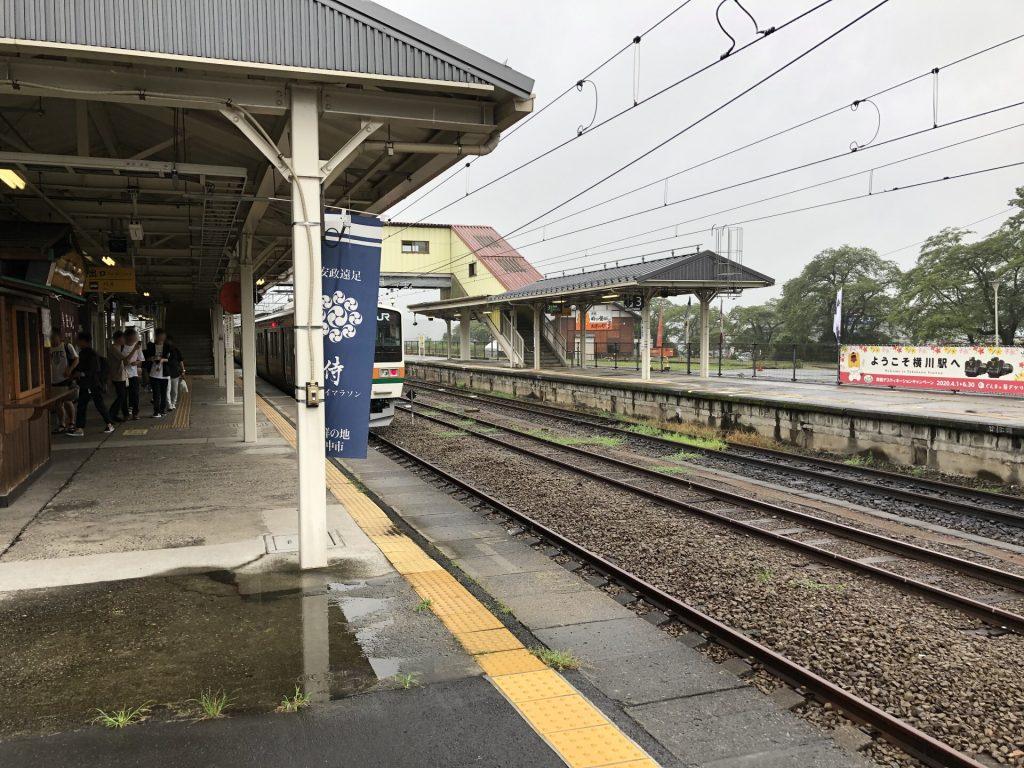 横川駅 構内