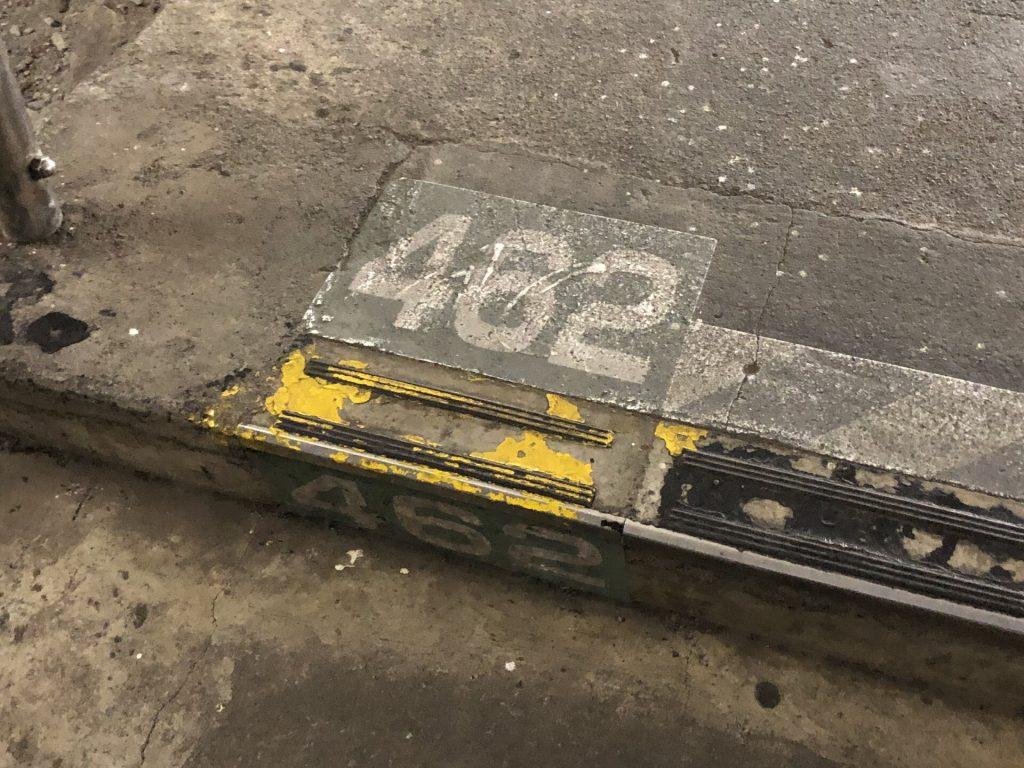 土合駅階段 462段目