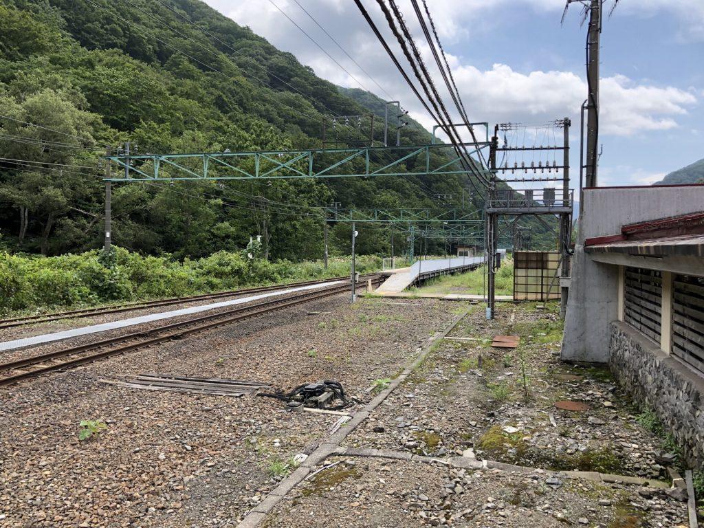 土合駅 上り線1