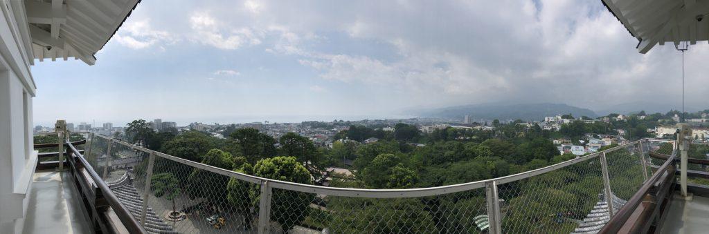 小田原城 展望 パノラマ