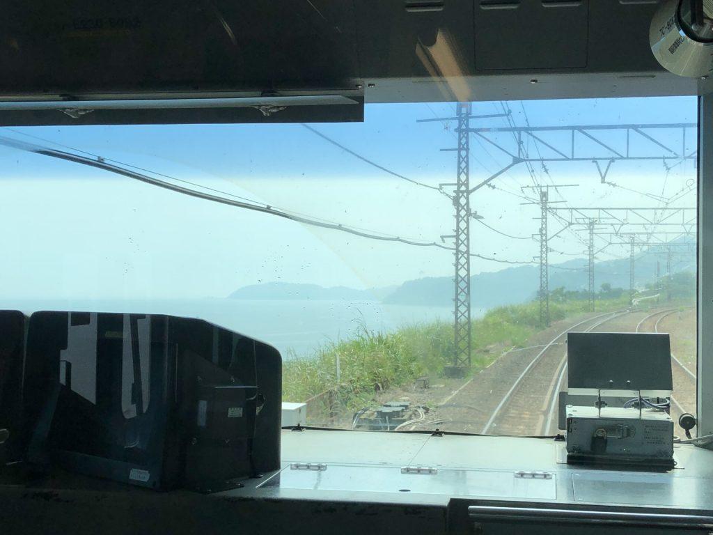 東海道線道中