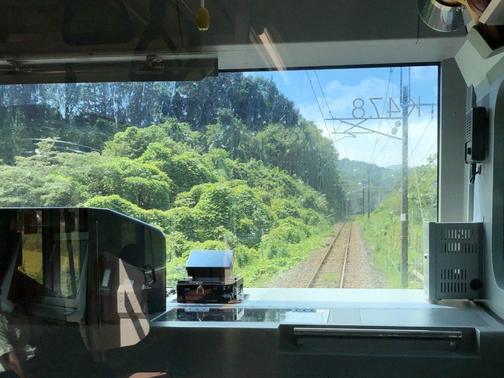 水戸線 車窓