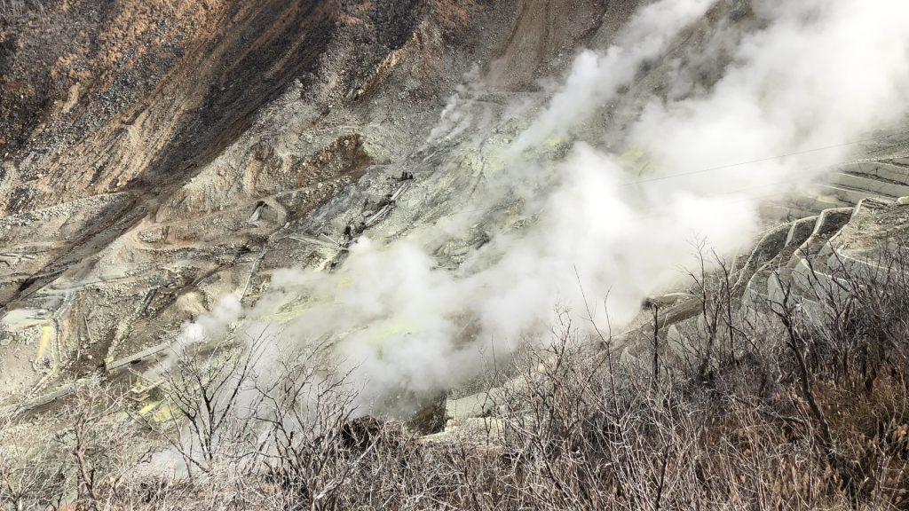 大涌谷噴気孔