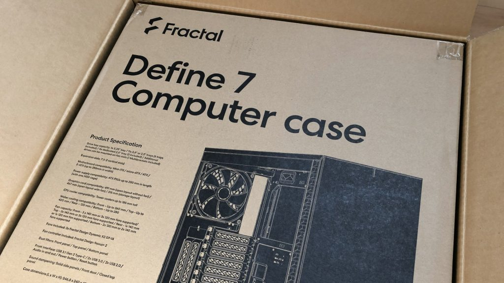 PC梱包箱